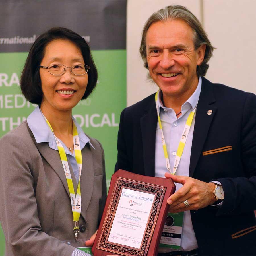 Wendelin Niederberger Keynote-Speaker bei der Preisverleihung in Tokio