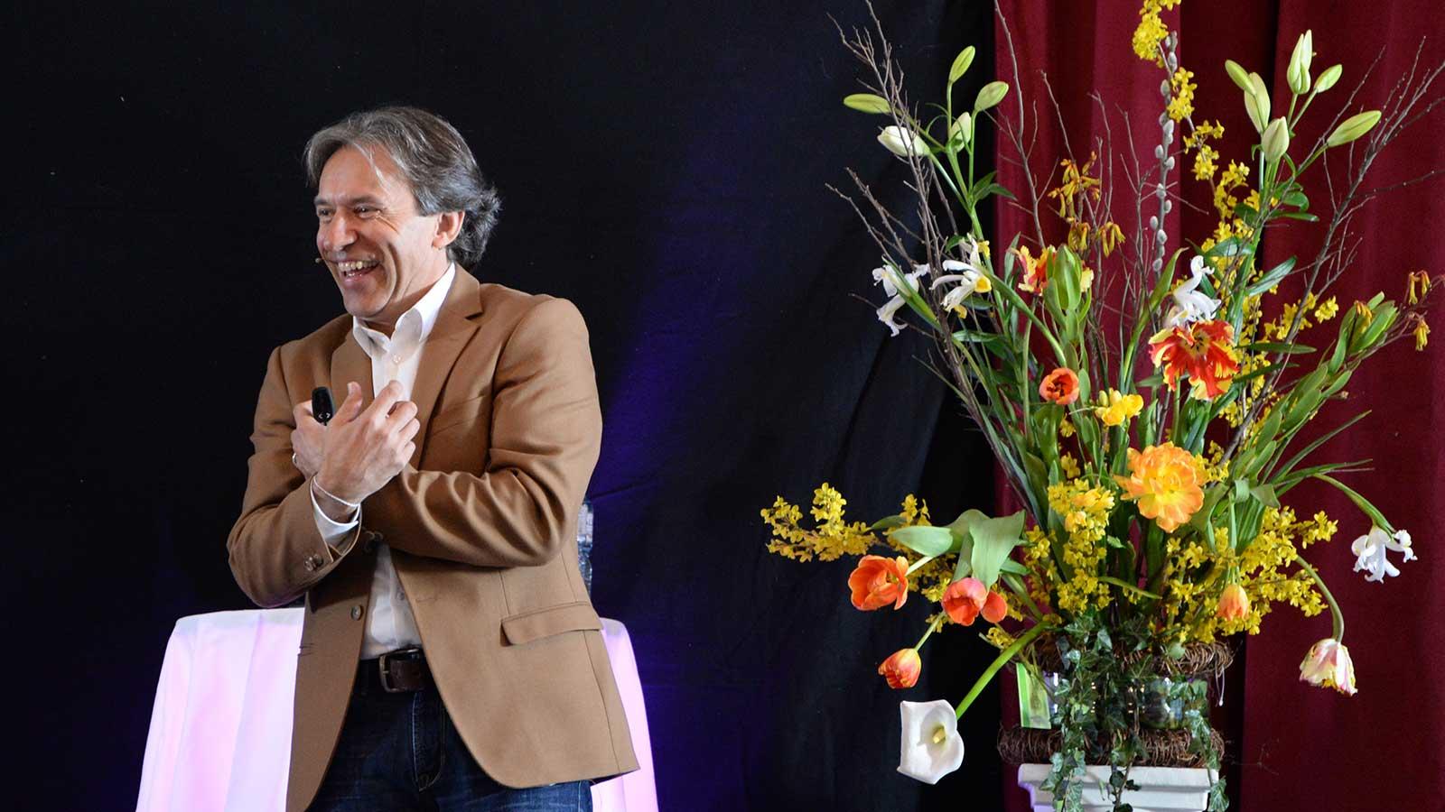 Wendelin Niederberger Keynote-Speaker begeistert sein Publikum
