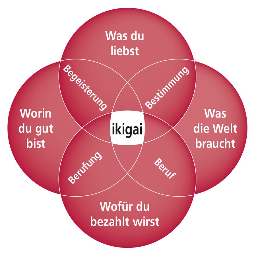 Ikigai - Grafik