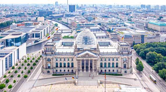 Feng Shui im Reichstag